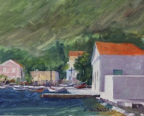 Symi Fishing Harbor
